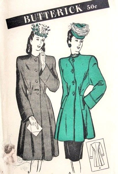 regex pattern length 1940s fabulous coat in 2 lengths pattern tunic or regular