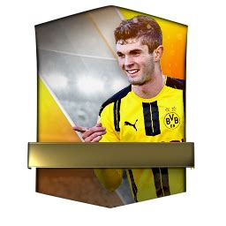 christian pulisic in fifa 17 christian pulisic 94 fifa mobile 17 futhead