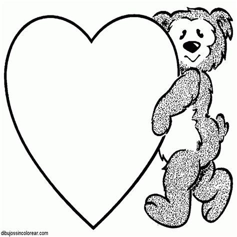 imagenes para colorear de ositos dibujos para colorear de corazones terijoki