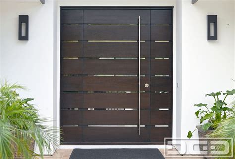 Online Garage Designer orange county ca modern entry doors in solid mahogany