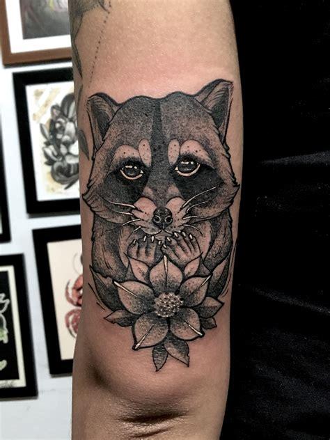 raccoon tattoo dotwork  juan david castro   images