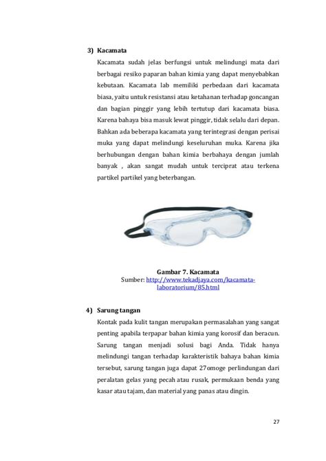 Jual Kacamata Laboratorium by Kimia Organik
