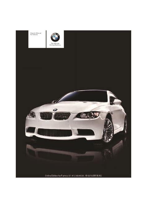 automotive repair manual 2011 bmw 1 series on board diagnostic system 2011 bmw 3 series m3 e90 e92 e93 owners manual