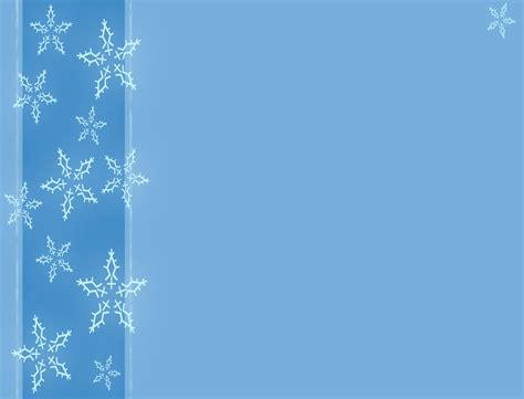 snow powerpoint template free a winter with snowflakes backgrounds for powerpoint
