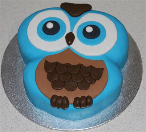 owl template for cake owl cake design ideas pictures to pin on pinsdaddy