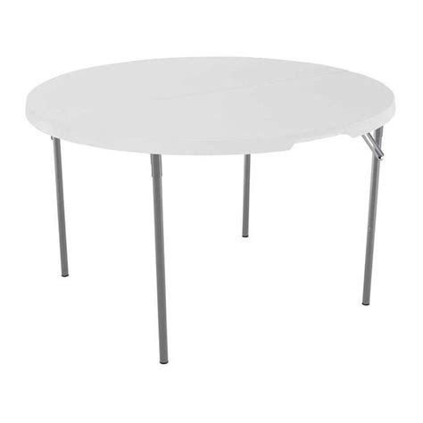 lifetime 48 inch fold in half plastic table the