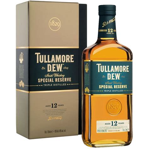 how is 12 in years tullamore dew 12 year special reserve whiskey caskers
