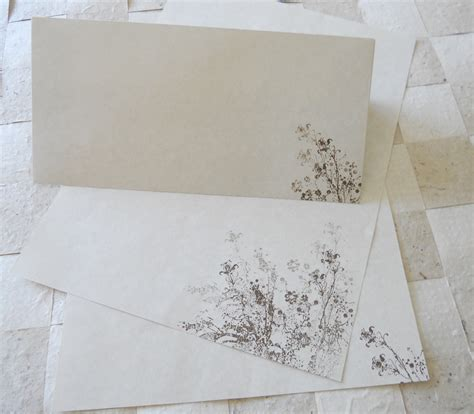 How To Make Parchment Paper For Writing - large parchment paper stationery set writing paper cut