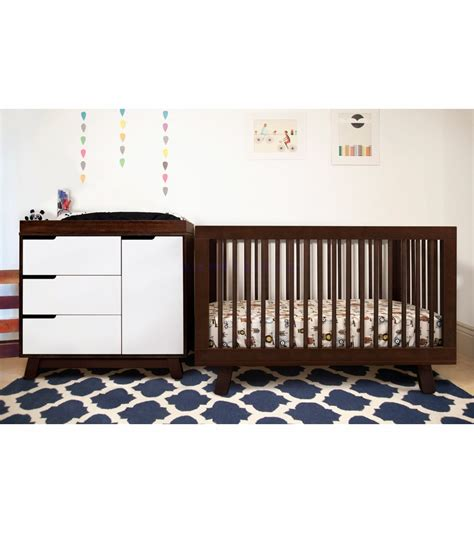Babyletto Hudson 3 In 1 Convertible Crib Babyletto Hudson 3 In 1 Convertible Crib W Toddler Rail Espresso