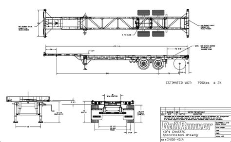 intermodal containers dimensions container chassis parts chassis specifications