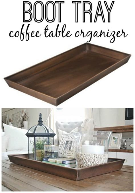 coffee table tray ideas best 25 ottoman tray ideas on pinterest coffee table