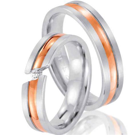 G Nstige Verlobungsringe Wei Gold by G 252 Nstige Zweifarbige Trauringe Ringladen De
