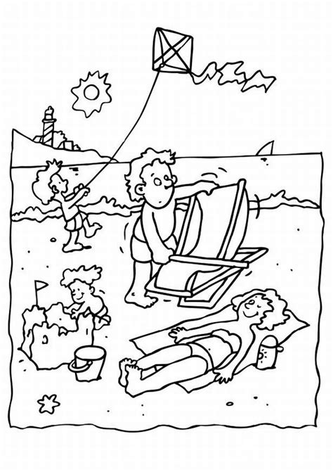 beach coloring pages coloring ville