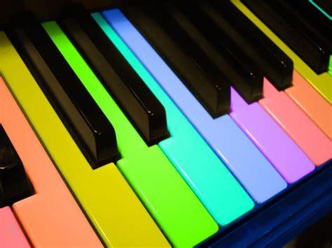 rainbow piano wallpaper www imgkid the image
