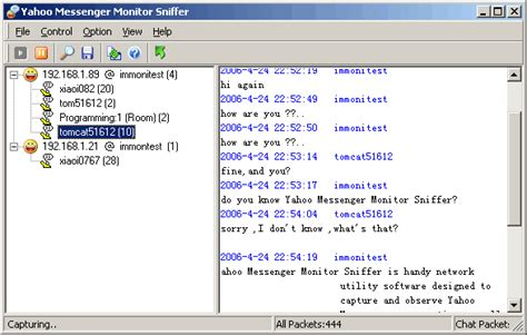 Icq Chat Rooms Usa by Yahoo Messenger Monitor Sniffer Monitor And Sniff Yahoo