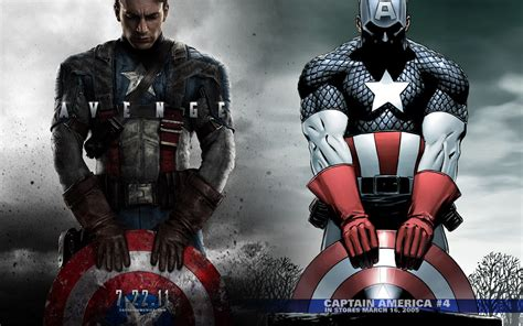 wallpaper captain america movie captain america movie comic cover wallpaper and