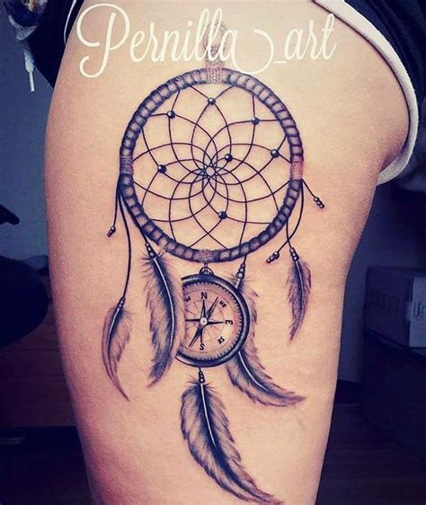 compass dreamcatcher tattoo travel tattoo dream catcher tattoo compass tattoo all