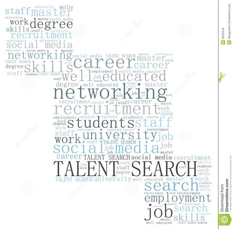 Talent Search Talent Search Royalty Free Stock Photos Image 38332318