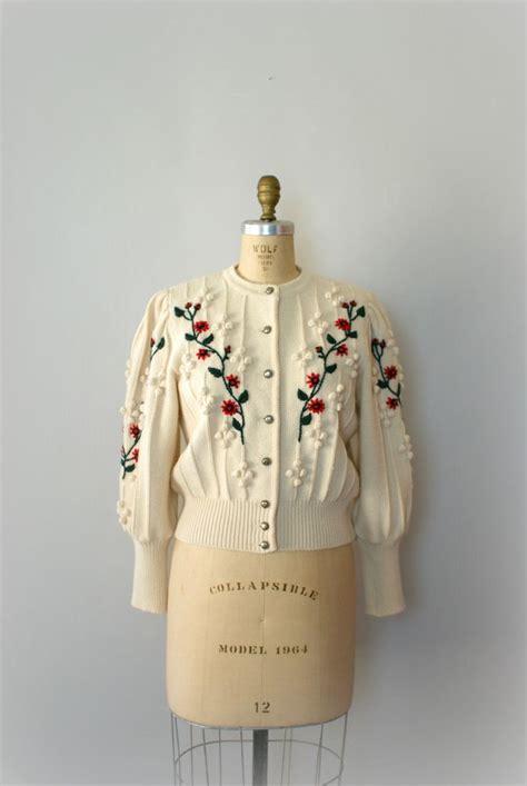 knitting pattern vintage cardigan vintage austrian winter wool cardigan ivory knit sweater