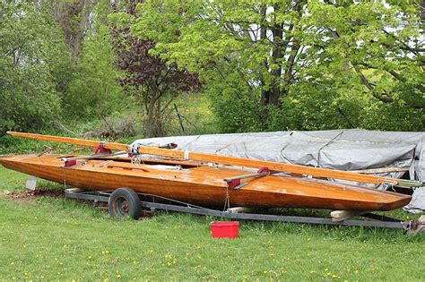 vic carpenter racing e scow for sale port carling boats - Wooden Scow For Sale