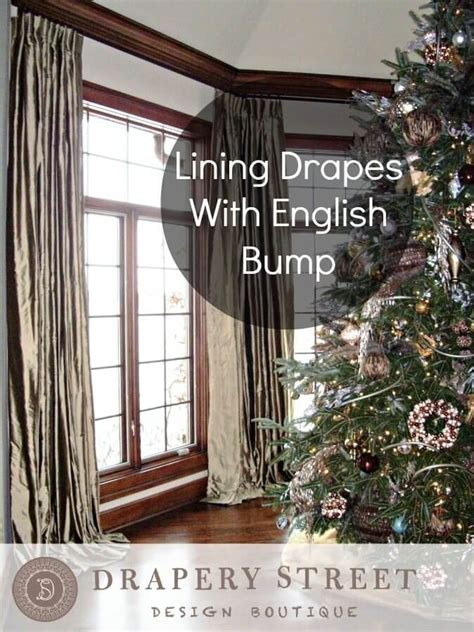 drapes english lining drapes with english bump drapery street