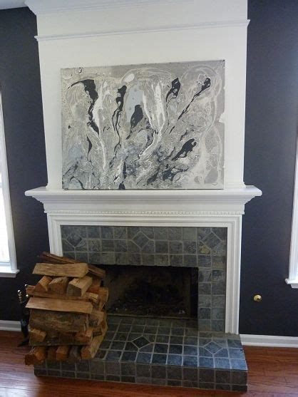 update a fireplace saved for future decorating and