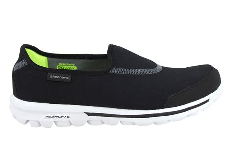 new skechers shoes new skechers go walk impress womens memory foam shoes ebay
