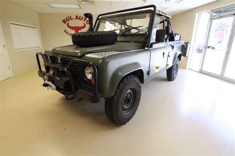 navy range rover 1986 land rover defender 110 military stock 17030 for