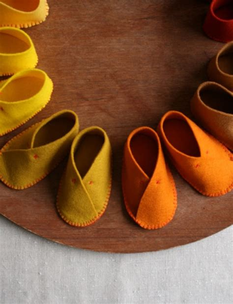 diy infant shoes the cutest diy felt baby shoes kidsomania