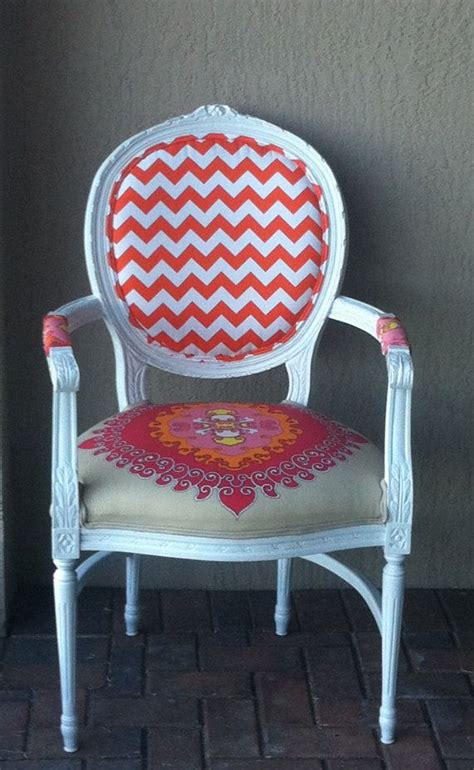 pink upholstered desk chair louis xvi chair fabric arm chair pink orange