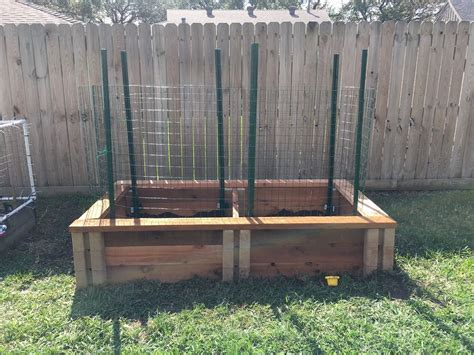 built   raised bed  home depot planter wall