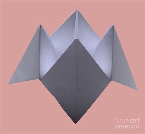 fortune origami origami fortune teller photograph by photo researchers