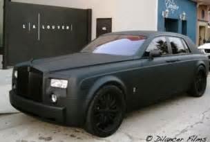 specialty car craft matte black phantom carzi