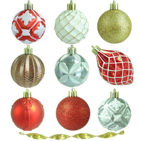 martha stewart white christmas ornaments martha stewart living 2 3 in pepperberry shatter resistant ornament 101 count h498 the