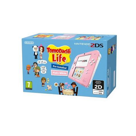 best price nintendo 2ds nintendo 2ds console tomodachi bundle pink white
