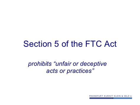 ftc act section 5 using testimonial claims in social media platforms