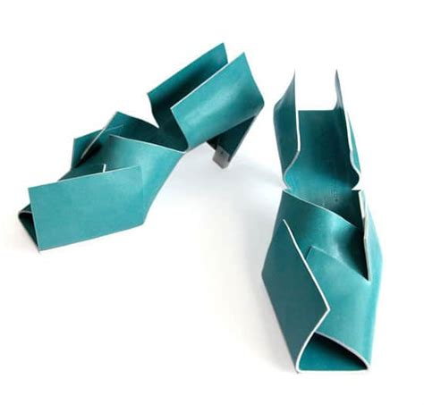 Origami Shoes by Colorful Origami Shoes For The Who Has Everything