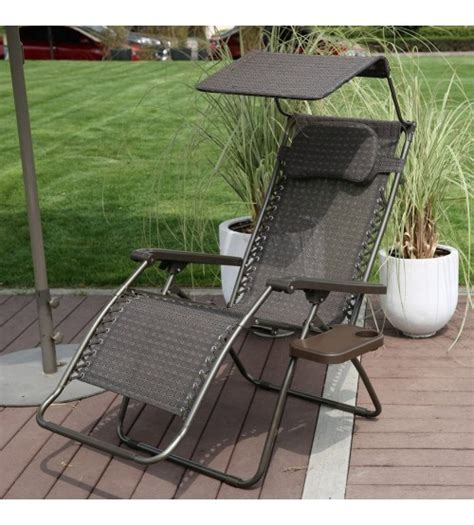 Zero Gravity Lounge Chair With Sunshade by Abba Patio Oversized Zero Gravity Chair Recliner Patio