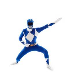 Blue power rangers morphsuit morphsuits uk morph costumes uk