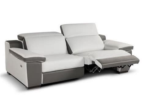 leather recliner sofa 2013 white color sofa bed