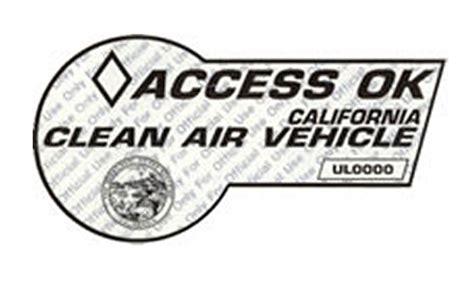 Hov Lane White Sticker Photo #298753   Automotive.com