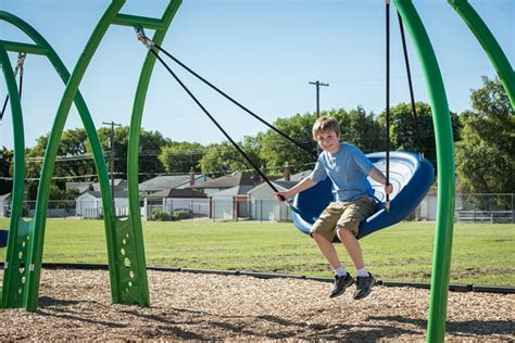 oodle swing multiple user playground swing for ages 5 to 12 oodle