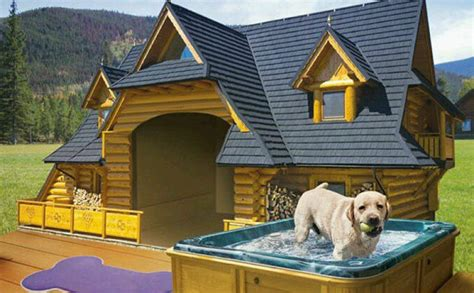 20 most luxurious dog houses 11 luxury dog houses worthy of mtv cribs barkpost
