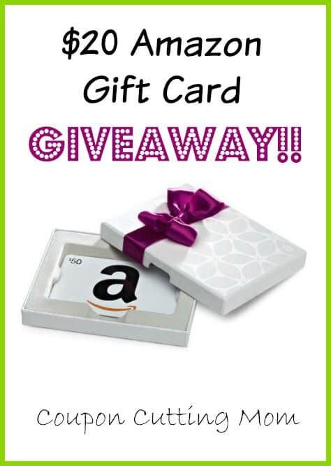 10 For 20 Amazon Gift Card - 20 amazon gift card giveaway