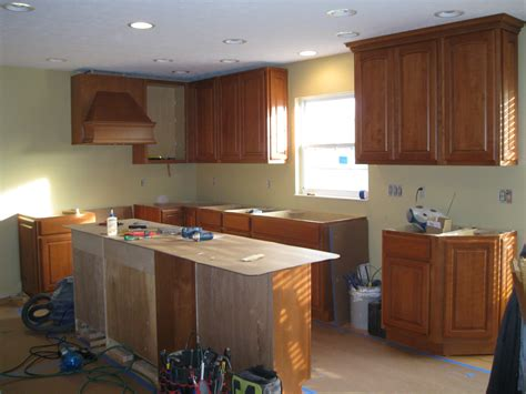 Wall Of Cabinets In Kitchen West Chester Kitchen Office Wall Cabinets Remodeling Designs Inc