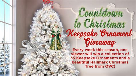 Hallmark Sweepstakes 2016 - hallmark channel s countdown to christmas keepsake ornament giveaway familysavings