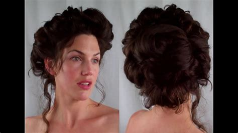 gibson girl hair edwardian victorian vintage retro