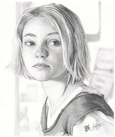 pencil sketch drawing images annasophia robb images pencil portraits hd wallpaper and