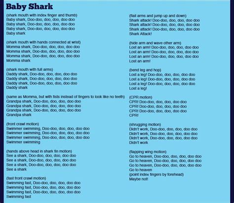 baby shark korean version lyrics memories cs and summer on pinterest