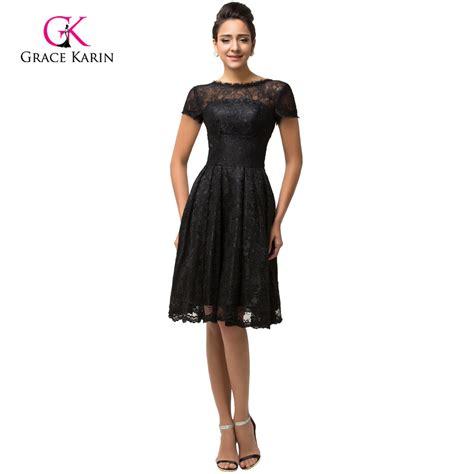 September Sleeve Dress By Grace by Lace Prom Dresses Grace Karin Cheap 2016 Black